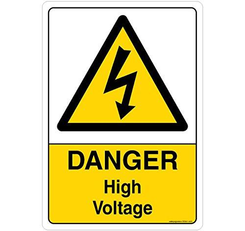 Danger: High Voltage Sign
