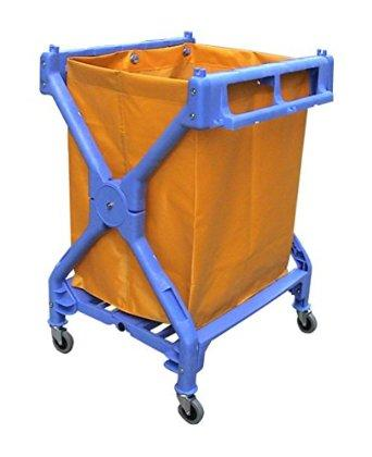 X Shape Plastic Laundry Cart