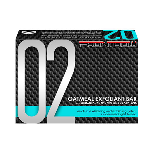 02 Oatmeal Exfoliant Bar Moderate Whitening and Exfoliating System