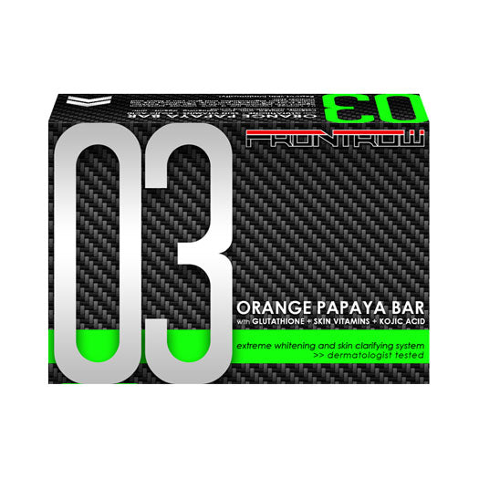 03 Orange Papaya Bar Extreme Whitening and Skin Clarifying System
