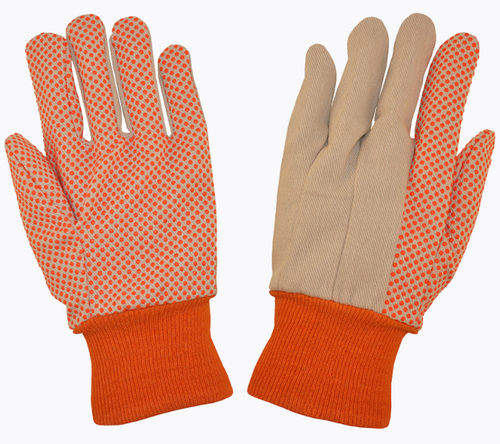 FL103D-10oz. ORANGE DOT GLOVE
