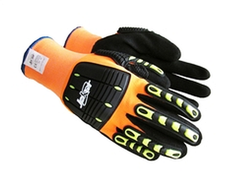 MX1185-JOKER HI VIS ORG GLOVES