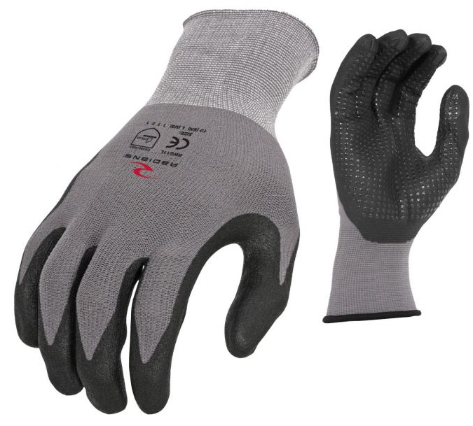 RWG11XL-NYLON DOT DIP GLOVE