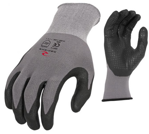 RWG11M-NYLON DOT DIP GLOVE