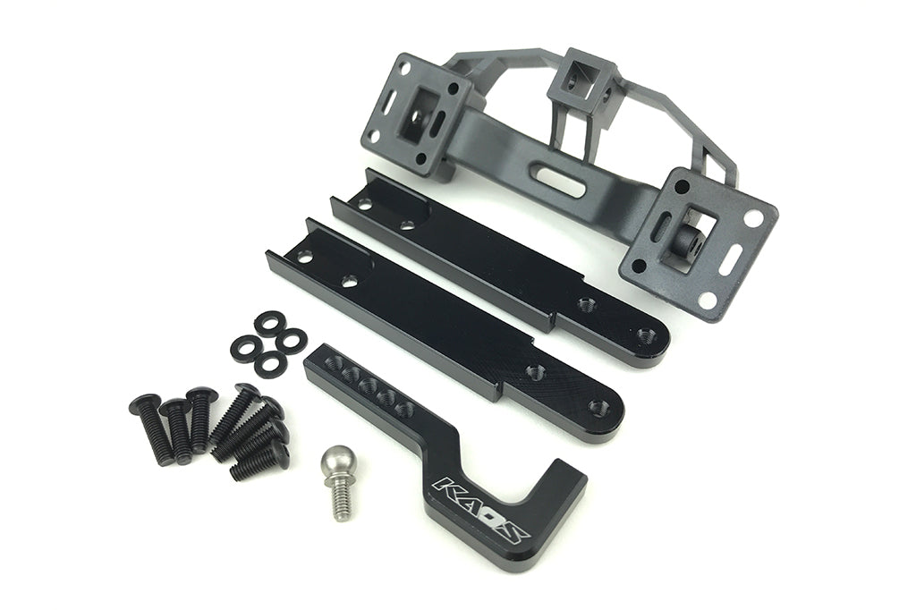 CKD0450 KAOS Aluminum Tow Hitch Adapter (w/5.8mm pivot ball) F450SD DL-Series - Cen Racing USA
