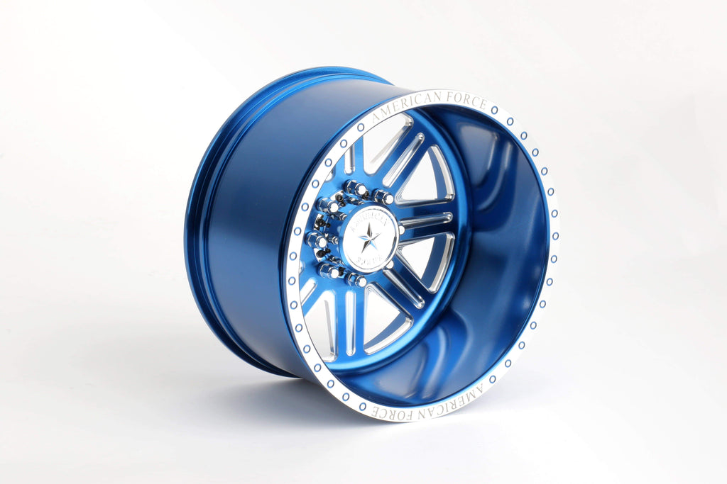 CKR0521 Forged Alloy CNC American Force Legend SS8 Wheel (-18,Blue) - Cen Racing USA