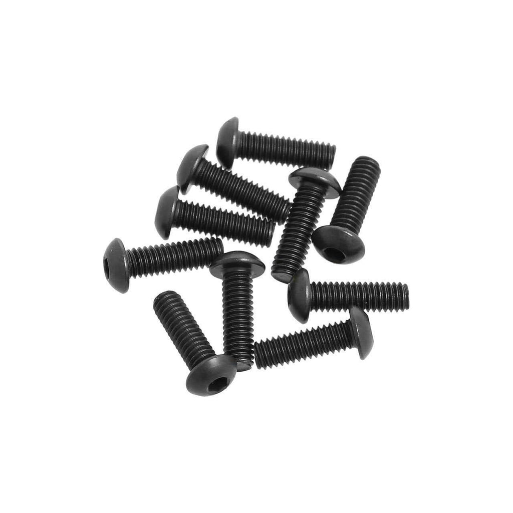 G36293 M2.5x8mm  Button Head Hex Socket Screw - Cen Racing USA