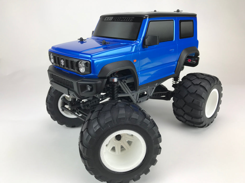 8937 Suzuki Jimny (Metallic Blue) 1/12 Scale 2WD RTR Monster Truck Q-Series - Cen Racing USA