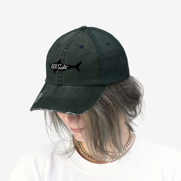 100% Salt Shark Mesh Hat