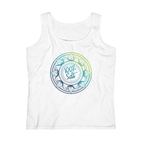 Ladies 100% Salt Connects Us All Tank Top