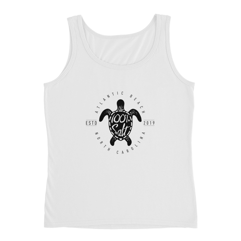 Ladies Tank With Turtle Logo
