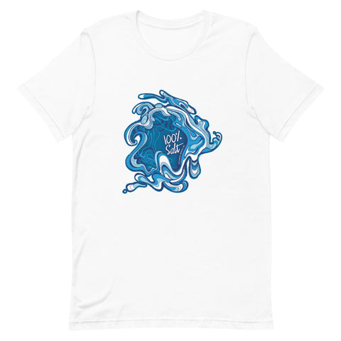 Mens Go With The Flow Short-Sleeve T-Shirt