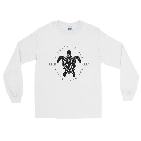 Mens Long Sleeve Shirt With Turtle Logo