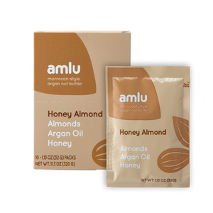 Honey Almond Argan Nut Butter - amlu