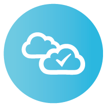 online backup service icon