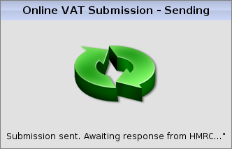 online vat submission screenshot