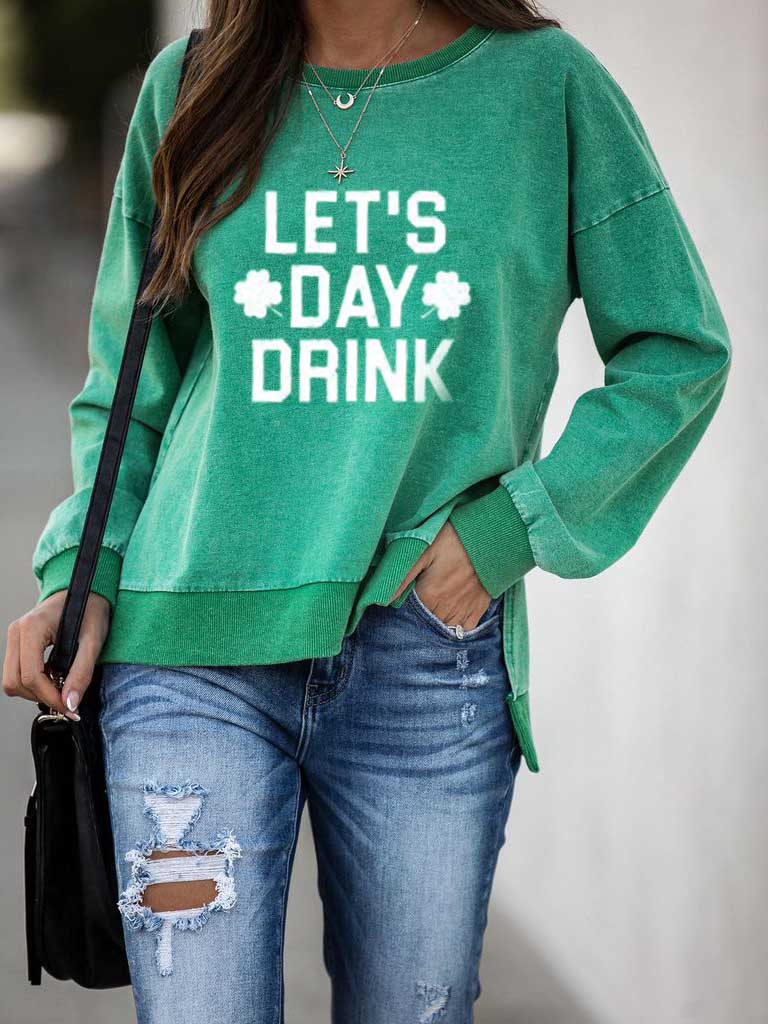 Lets Day Drink Pullover