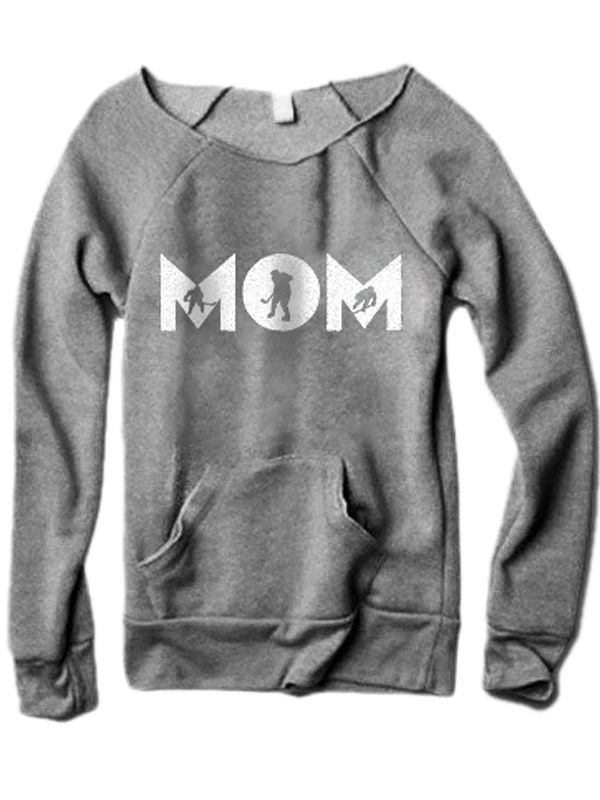 Hockey Mom Sweater With Pocketed