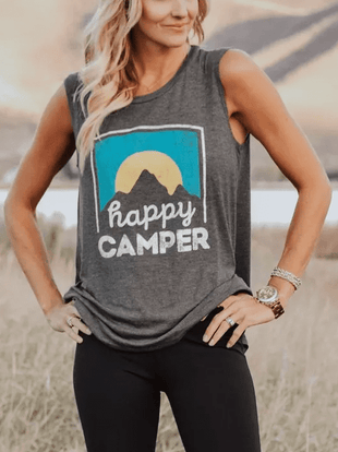 Happy Camper Printing Tanks
