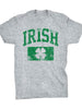 Women's Clover IRISH Printed Casual Round Neck T-Shirt