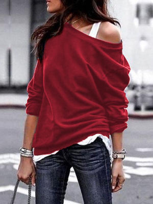 Solid Color O-neck T-shirts