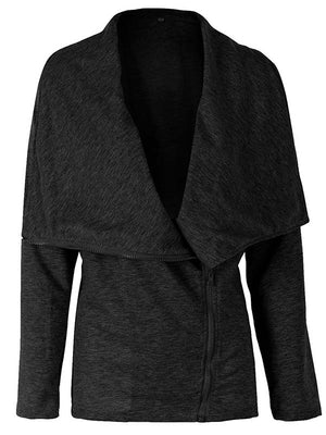 Diagonal Zipper Jacket