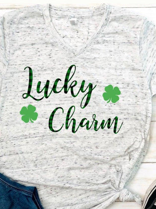 Women's Lucky Chaim Print T-shirt