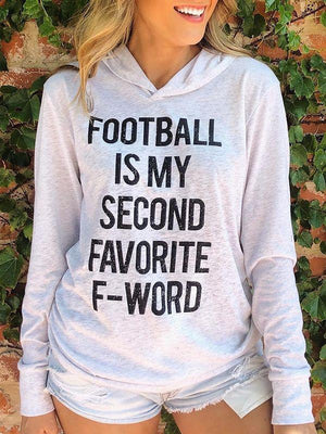 FOOTBALL Is My Second Favorite F-word Top