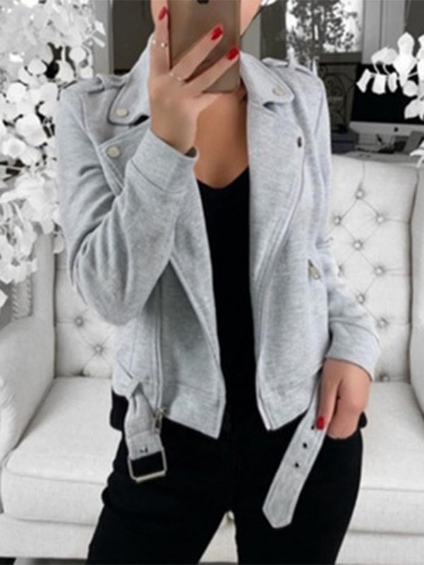 Lapel Short Jacket