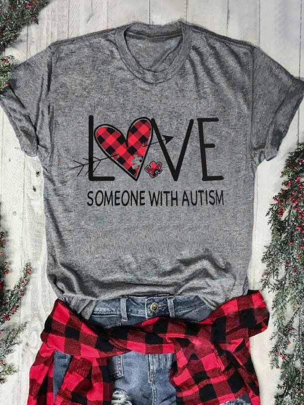 Love Someone With Autism T-Shirt