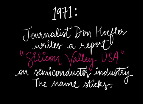 Don Hoefler Silicon valley USA Semiconductor story origin