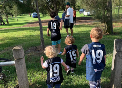 Parenting 2020: Anna Scullie, Frankly Eco cofounder, and husband Eddie Betts, AFL superstar