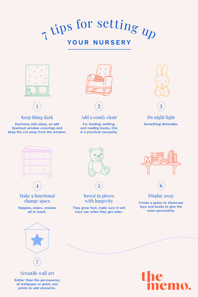 Tips for Setting Up Your Baby's Nursery