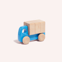 Truck with Blocks - Blue