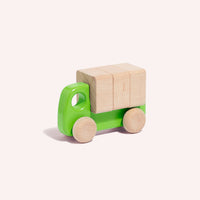 Truck with Blocks - Green