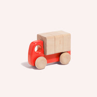 Truck with Blocks - Red
