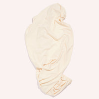 Fitted Jersey Cot Sheet - Sand