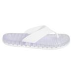Ibiza - Clear Thong Sandal - White