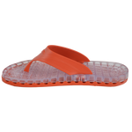 Ibiza - Clear Thong Sandal - Red