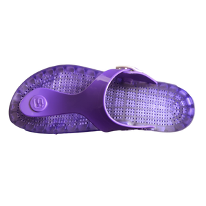 Taormina - Flamingo Thong Sandal - Purple