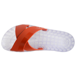 Amalfi - Clear Slide Sandal - Red