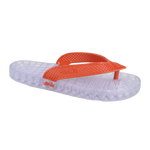 Wave - Clear Thong Sandal - Red