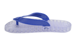Wave - Clear Thong Sandal - Royal Blue