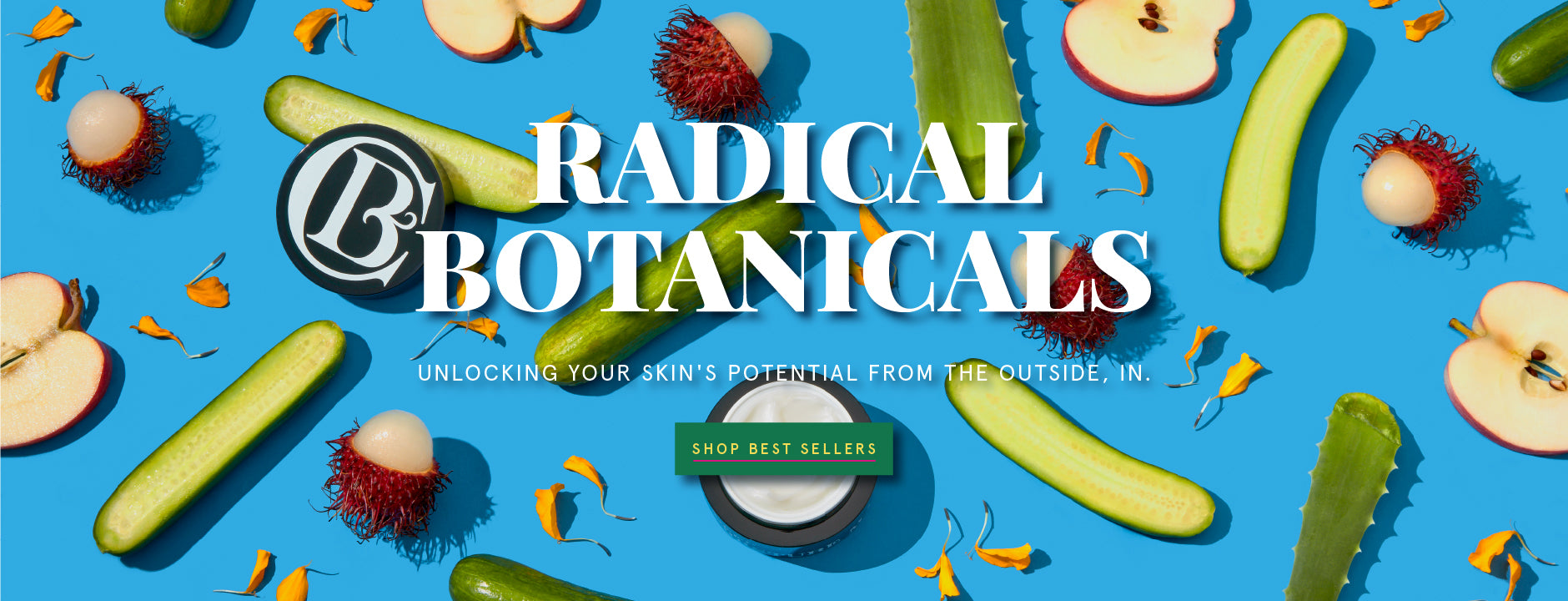 Radical Botanicals Clark's Botanicals Luxury Beauty Products