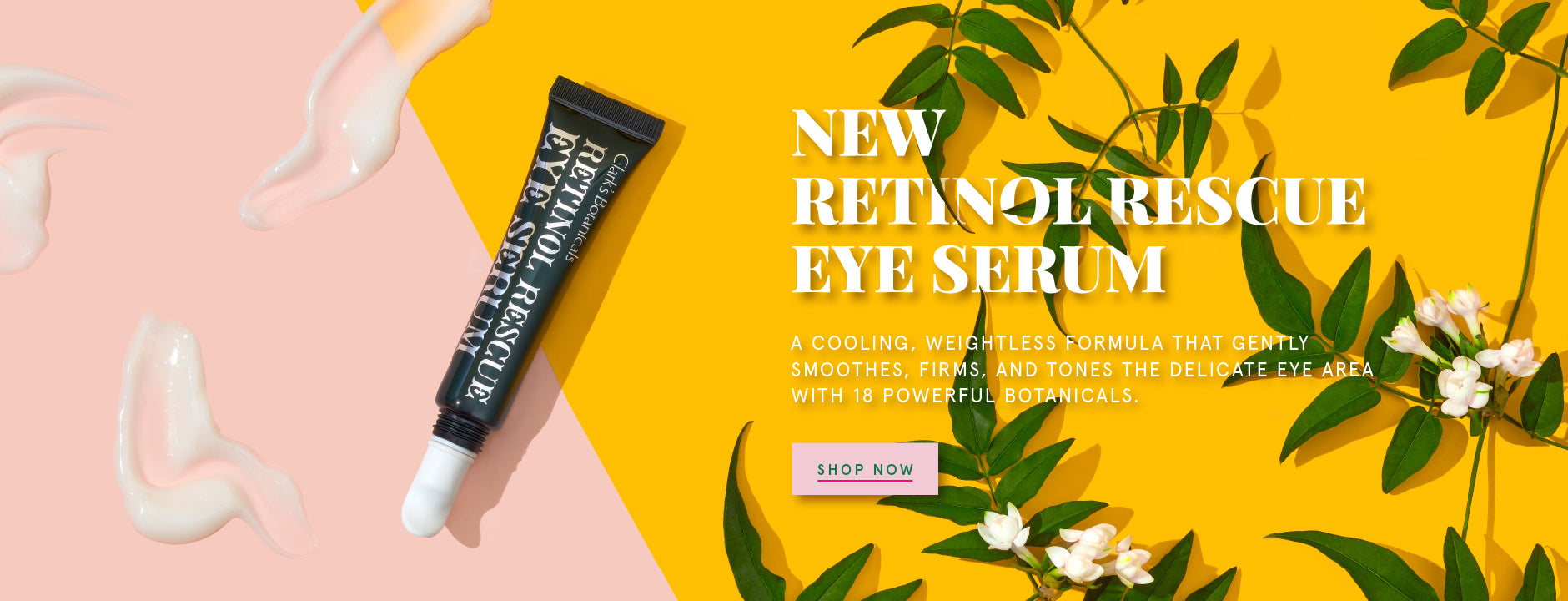 Retinol Rescue Eye Serum Clark's Botanicals Luxury Beauty Products