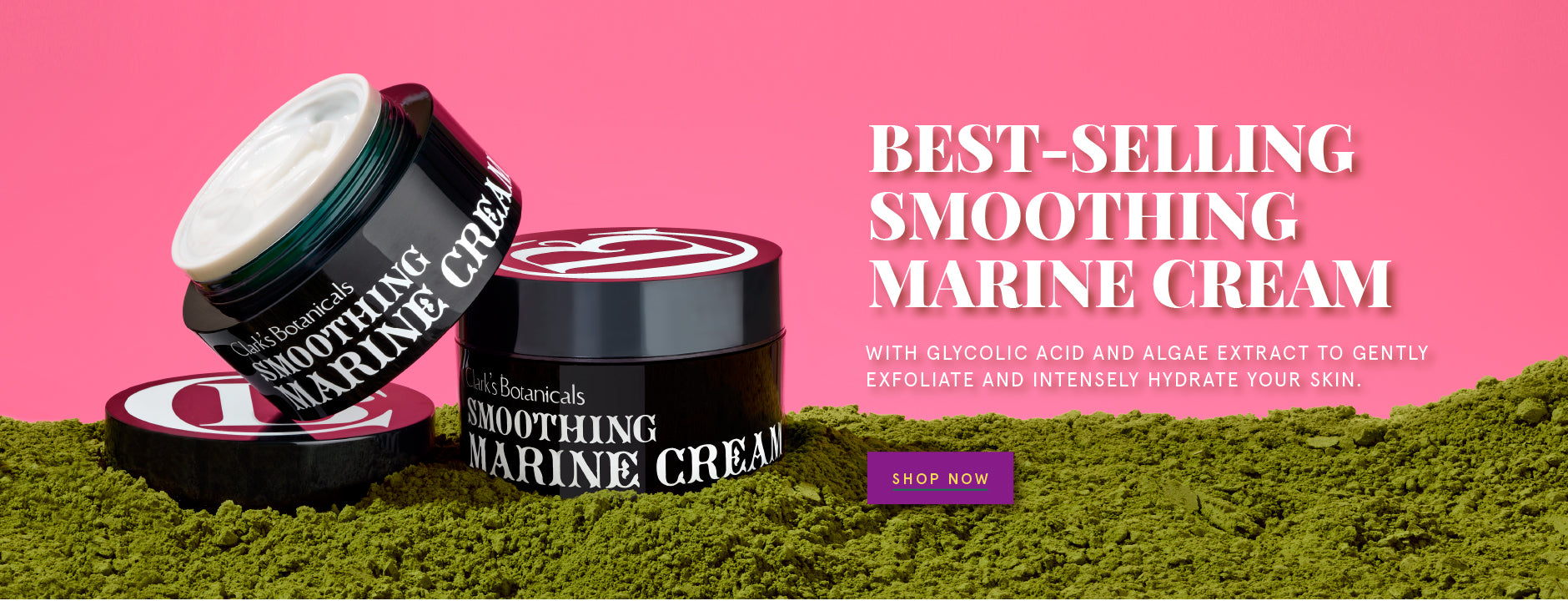 Smoothing Marine Cream Clark's Botanicals Luxury Beauty Products