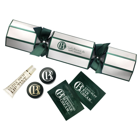 Clark's Botanicals Holiday Cracker with Luxury Beauty Products