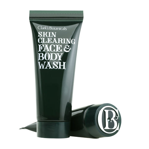 Clark's Botanicals Skin-Clearing Face & Body Wash