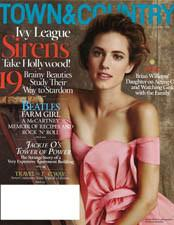 Press: Town & Country 4-13 - Clark's Botanicals