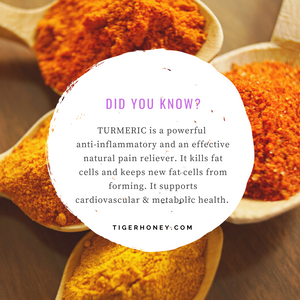 Tigerhoney Turmeric Benefits